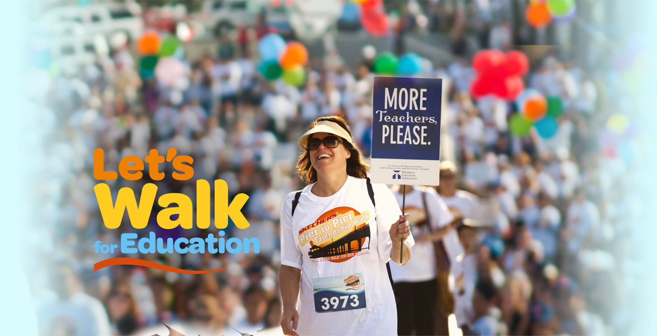 Let's Walk for Education