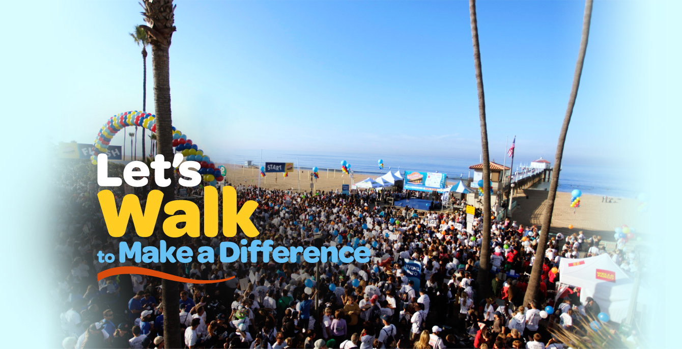 Let's Walk to Make a Difference