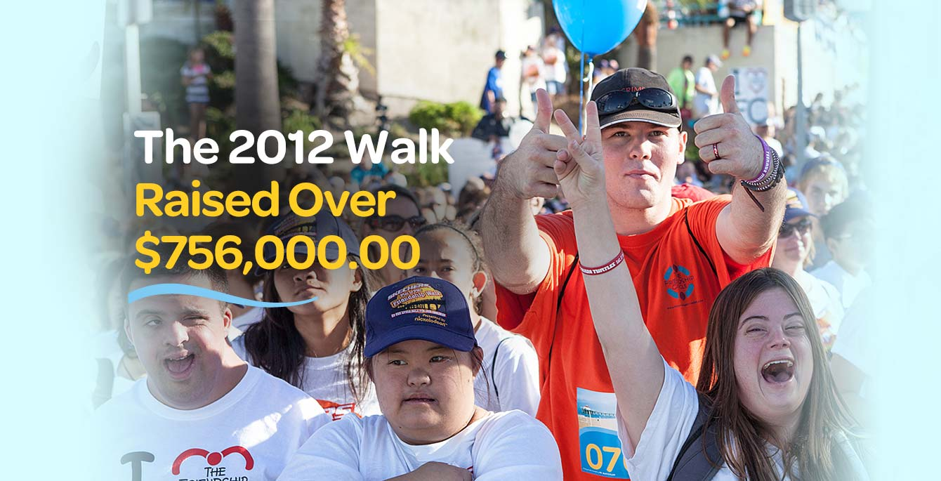 The 2012 Walk Raised Over $756,000.00